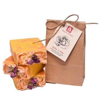 mydło z różą