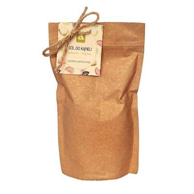 sól do kąpieli cytrusowo-korzenna