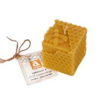 Świeca woskowa pszczółka